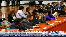 """""""Queremos tener una vida con posibilidades iguales que las de cualquiera"""": Pdte. De Guimel a NTN24 sobre matrimonio homosexual en México"""