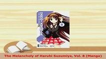 Download  The Melancholy of Haruhi Suzumiya Vol 8 Manga Ebook