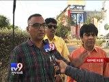 Terrifying hit and run caught on camera in Ahmedabad - Tv9 Gujarati
