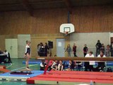 Poutre 3eme degre concours étoiles Jeunesses FSCF Sin-Le-Noble - 17 mars 2012