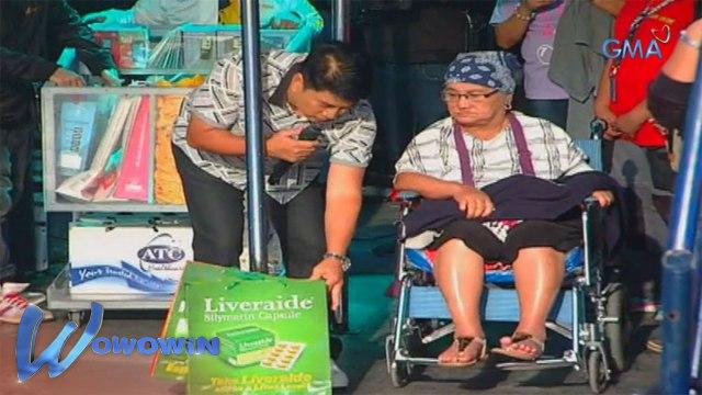 Wowowin: Willie Revillame, pinasaya ang nanay na naka-wheelchair