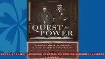 For you  Quest for Power European Imperialism and the Making of Chinese Statecraft