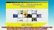 READ book  Public Speaking Success  Increase Your Speaking Power with these Effective Techniques Online Free