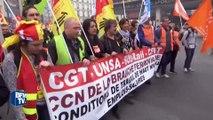 Les cheminots entament une grève de deux jours contre leur nouvelle organisation du travail