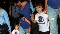 (Video) AbRam Steals The Spotlight From Shahrukh Khan At Airport