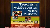 FREE PDF  Teaching Adolescents With Autism Practical Strategies for the Inclusive Classroom  DOWNLOAD ONLINE