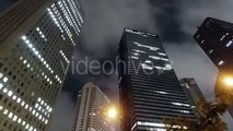 Tokyo at Night-Time. The Lights of the City - Stock Footage | VideoHive 15237894
