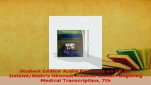 PDF  Student Edition Audio Exercises on CD for IrelandSteins Hillcrest Medical Center PDF Book Free