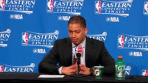 Cleveland Cavaliers Postgame Interview on Win Game 1 NBAPlayoffs Cavaliers vs Raptors
