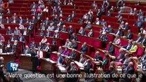 Clash à l'Assemblée nationale entre Hervé Mariton et Manuel Valls