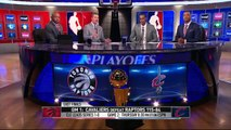 NBA Highlights 2016 | J.R. Smith Postgame Interview | Raptors vs Cavaliers | Game 1 | May 17, 2016