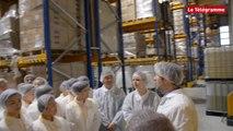 Plouédern (29). Une délégation chinoise visite l'usine OTB/Algotherm