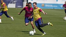FC Barcelona training session: All eyes on the Copa del Rey Final