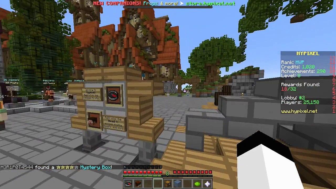 LIMBO AND HYPIXEL REWARD| Minecraft Hypixel Secrets [1]