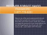 Recover_forgot_yahoo_password @ 1-877-776-6261