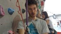 Escalade - Adrénaline : Donne-moi du mou, apprendre à chuter en escalade