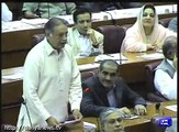 Pervaiz Rashid terms opposition's walk out from NA as 'cat walk'