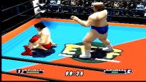 Virtual Pro Wrestling 64 Dory Funk Jr. vs Kenta Kobashi