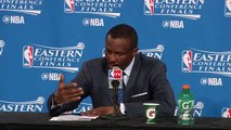 NBA Highlights 2016   Dwane Casey Postgame Interview   Raptors vs Cavaliers   Game 1   May 17, 2016