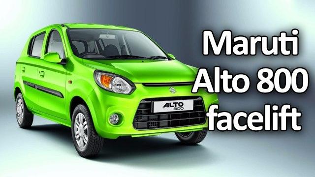 Maruti Alto 800 facelift launch Price and Specs