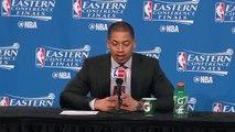 Cavaliers Postgame Interview | Raptors vs Cavaliers | Game 1 | May 17, 2016 | 2016 NBA Playoffs