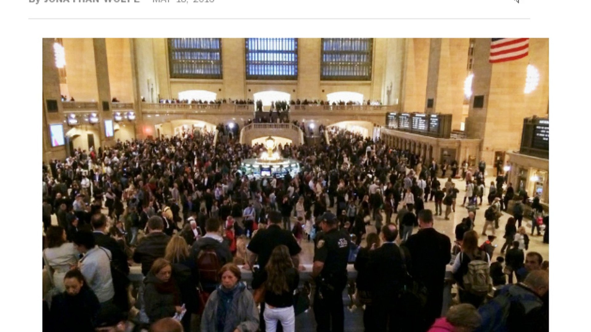 [Newsa] New York Today: Fire Snarls Metro-North Service at Grand Central