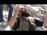 استهداف مسجد بلال بن رباح للمرة الثانية وهدمه 29-10-2012