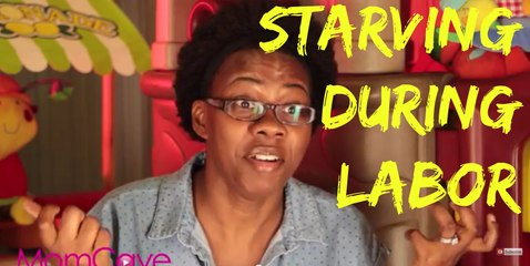 Eating During Labor | BLABBERMOM  | MomCave |  hospital birth prankster
