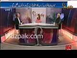 Farrukh Saleem praises Imran Khan's speech & criticizes Khawaja Asif's speech