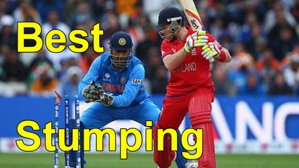 Top Best Fastest Stumpings In Cricket History By Cricket World