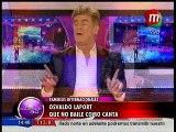 Osvaldo Laport ¿bailará como canta?