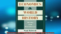 FREE PDF  Economics and World History Myths and Paradoxes  DOWNLOAD ONLINE