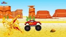 Monster Truck Stunts Wüste Cartoons für Kinder