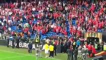 BREAKING   Liverpool Fans Attacking Sevilla Fans Before The Match! Huge fight18-05-2016