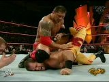 (Wrestling) Batista vs. Chris Benoit (RAW 3-1-2005) (WWE)