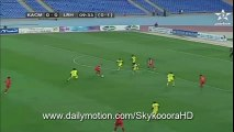 Kawkab Marrakech 1-0 EL Merreikh - Goal From Penalty 18.5.2016 -  African Confederation Cup