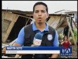 Casas fueron afectadas en Babahoyo por el sismo de la madrugada