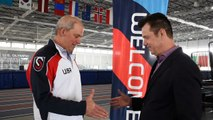 US Speedskating Executive Director and Froozer Chairman of the Board discuss sponsorship