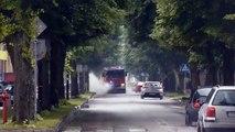 401[Z]26 Scania P400 z JRG Białogard alarmowo do zdarzenia drogowego!