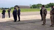 Le Roi Philippe et le Roi Abdullah II en visite à la base aérienne de Florennes