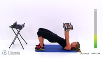 Upper Body Superset Workout with Fat Burning Cardio Intervals - Arm, Chest, Back & Shoulder Workout (2)