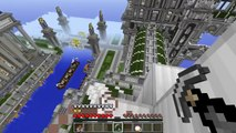 PopularMMOs Minecraft: SWING AROUND LIKE SPIDERMAN! (TRAVEL FROM BUILDING TO BUILDING) Mod Showcase