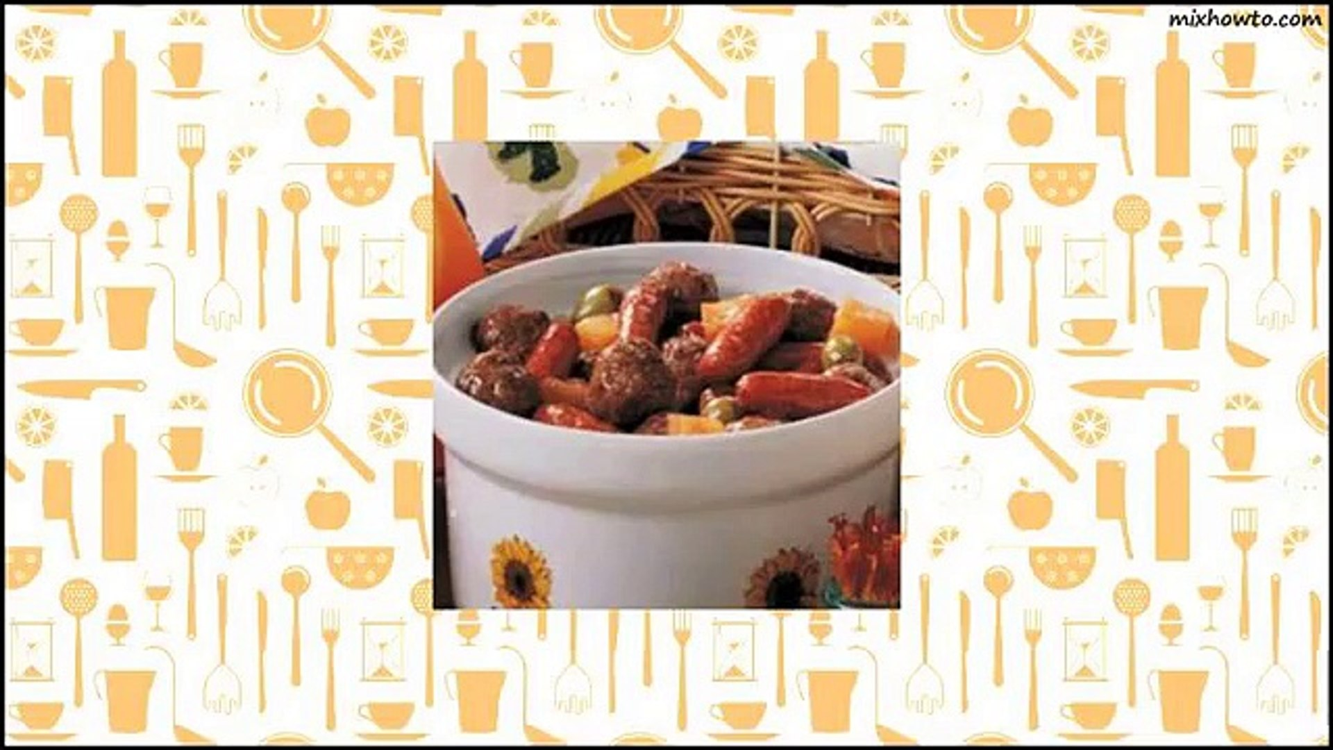 Recipe Meatball and Sausage Bites Recipe