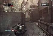 Gears of War 2 Gameplay Xbox Live Online Multiplayer Horde Mode - Wave 44