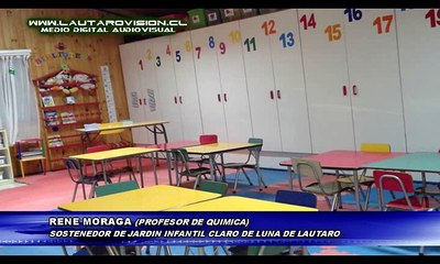 ROBO AFECTA A JARDIN INFANTIL CLARO DE LUNA DE LAUTARO