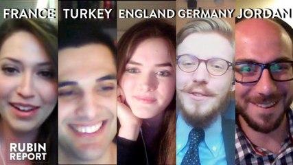 Rubin Report Fan Show: France, Turkey, England, Germany, Jordan