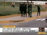 REPRESION DE PARTE DE LOS SECUACES DE CHAVEZ - Agosto 26 del 2009