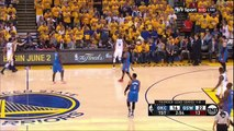 Stephen Curry Goes Flying into the Stands  Thunder vs Warriors  Game 2  2016 NBA Playoffs