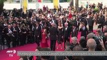 Cannes: stars et mannequins montent les marches