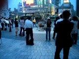 musique de rue Kinshicho Tokyo Japon